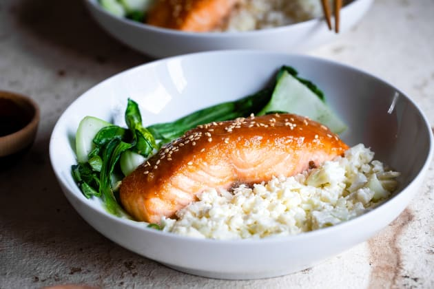 Miso Glazed Salmon Photo