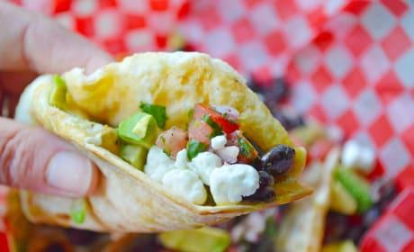 Huevos Rancheros Street Tacos Image