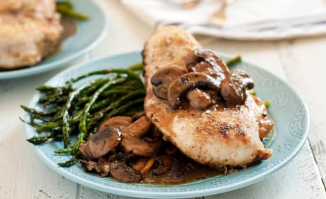 Gluten Free Chicken Marsala with Mushrooms Recipe