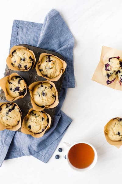 Blueberry Doughnut Muffins Picture