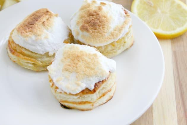 Lemon Meringue Donuts Photo