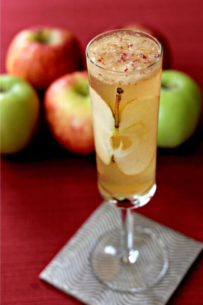 Apple Bourbon Bellini Picture
