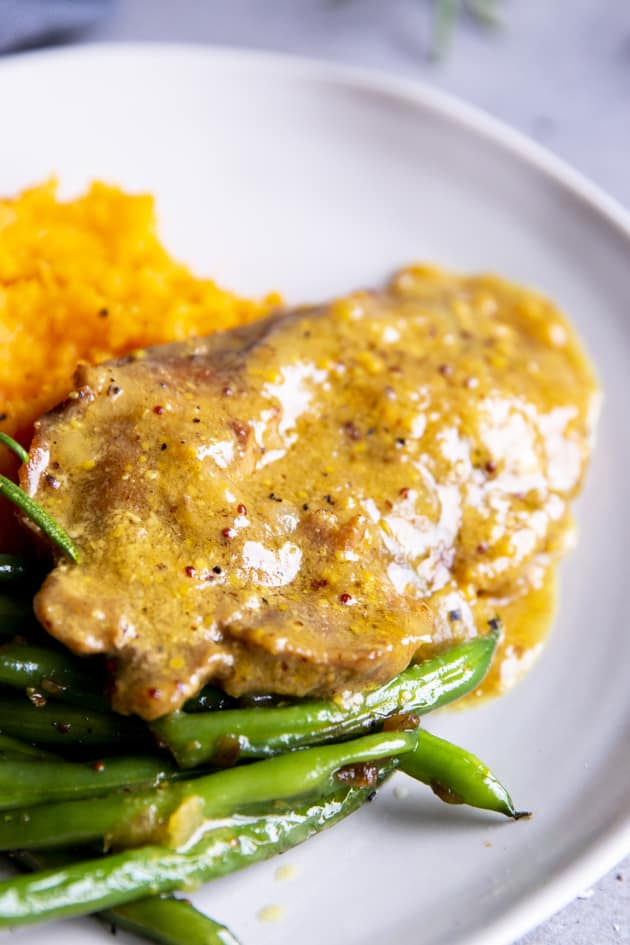 Instant Pot Honey Mustard Pork Chops Picture
