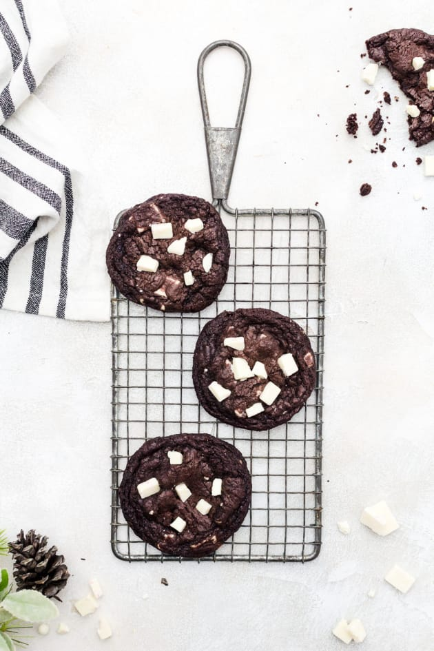 Peppermint Chocolate Cookies Picture