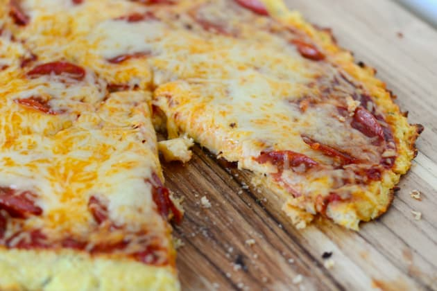 Cauliflower Crust Pizza Pic