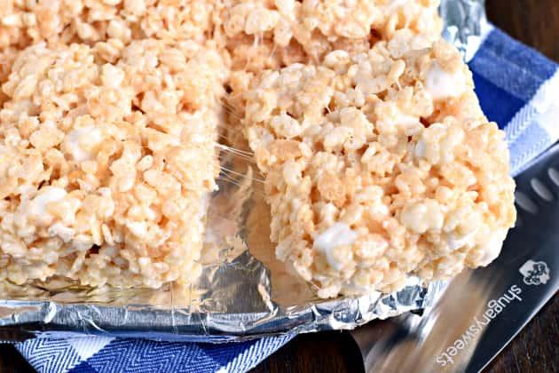 Perfect Rice Krispie Treats Photo