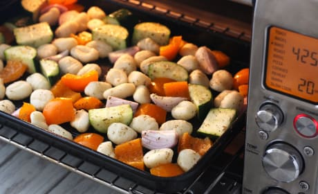 One Pan Roasted Gnocchi and Vegetables Image