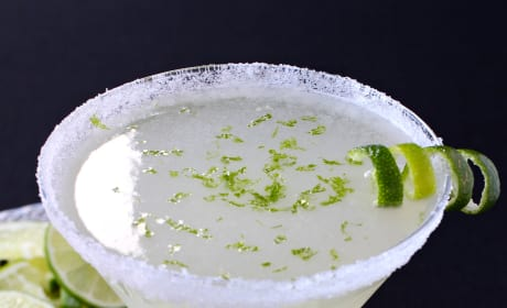 Lime Drop Martini Picture