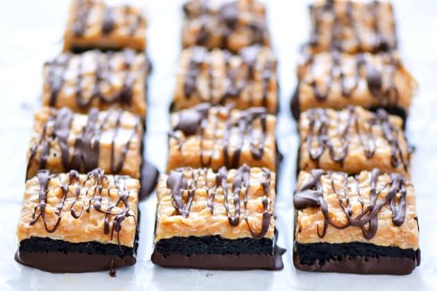 Gluten Free Samoas Brownies Image