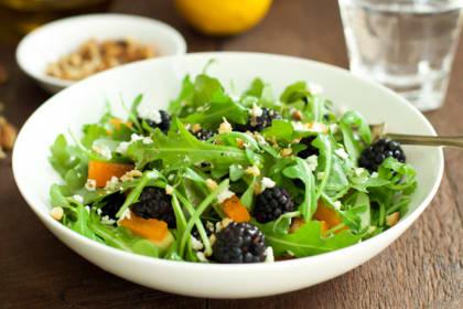 Arugula Blackberry Salad