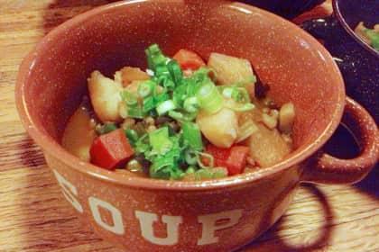 Vegan Stew with Irish Flair