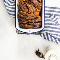 Chocolate Cookie Butter Babka Recipe
