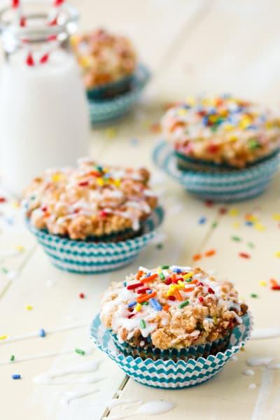 Birthday Cake Muffins Image