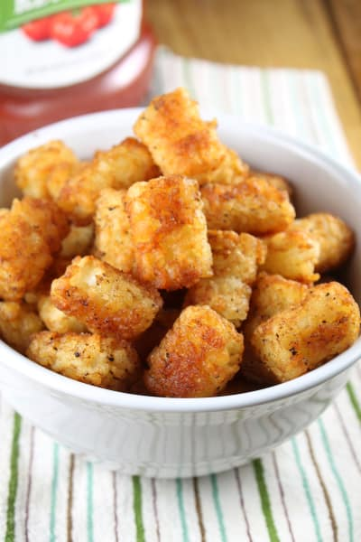 Oven Fried Tater Tots Pic