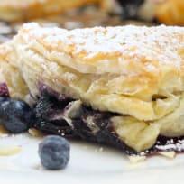 Blueberry Almond Turnovers Recipe