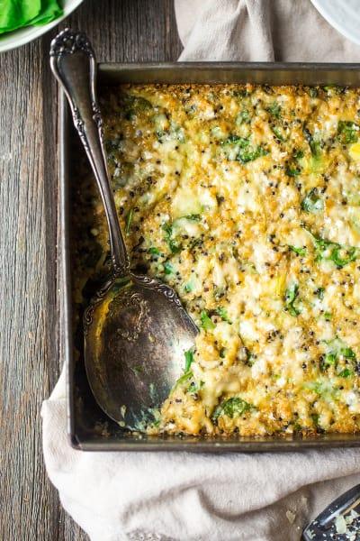 Spinach Artichoke Quinoa Casserole Picture