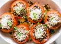 Black Beans and Rice Stuffed Tomatoes Recipe