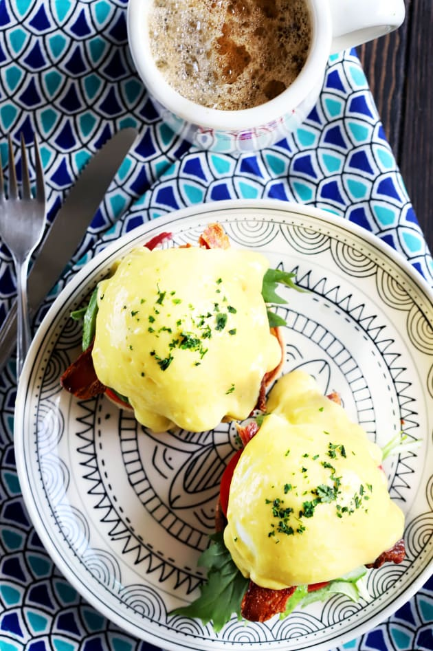 BLAT Eggs Benedict Picture