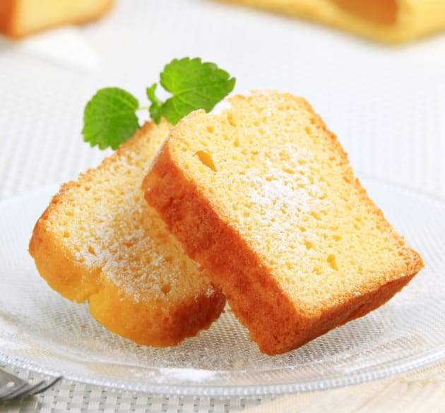 Lemon pound cake photo