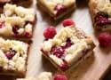 Raspberry Biscoff Crumb Bars