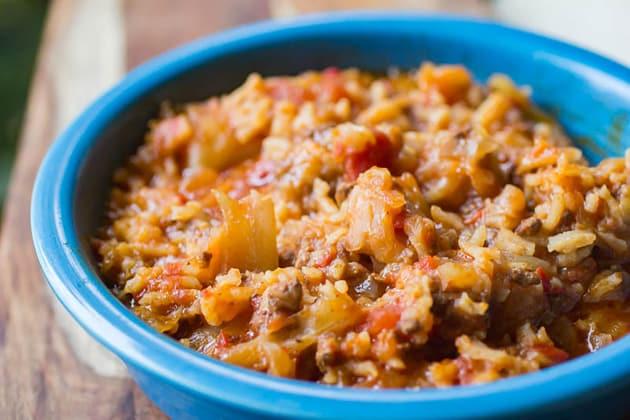 Instant Pot Cabbage Soup Photo