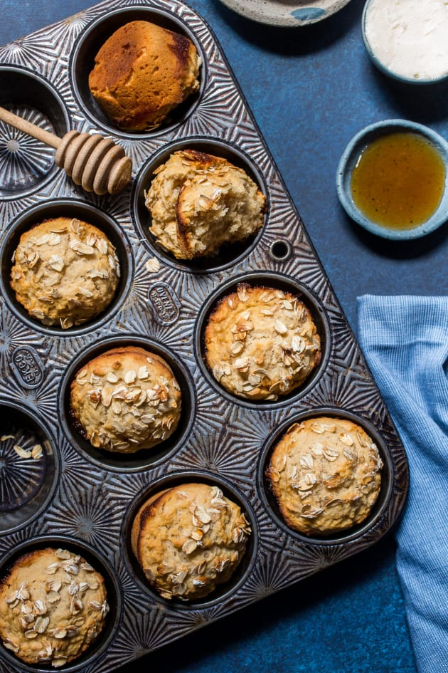 Honey Wheat Hard Cider Beer Bread Muffins Picture