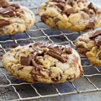 Marbled Chocolate Hazelnut Cookies Recipe