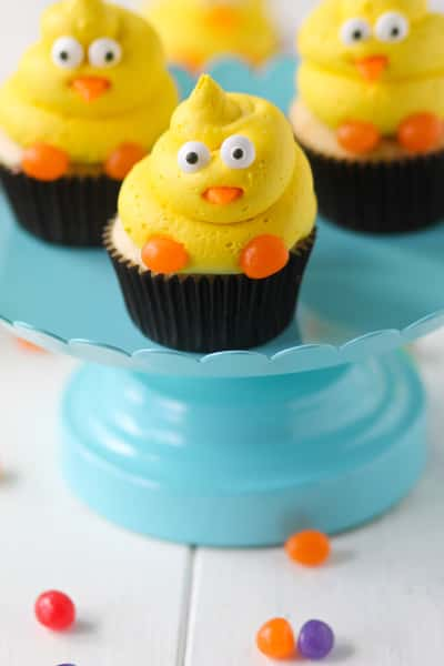 Spring Chick Cupcakes Pic