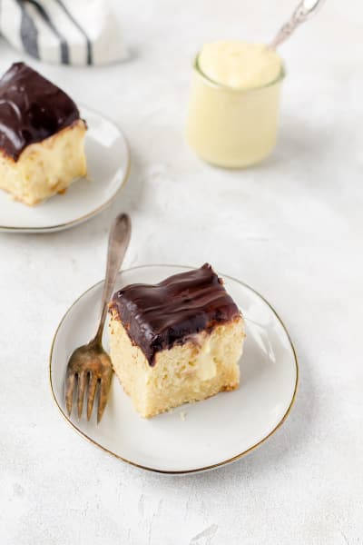 Boston Cream Pie Poke Cake Picture