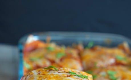 Vegetarian Enchilada Casserole Image
