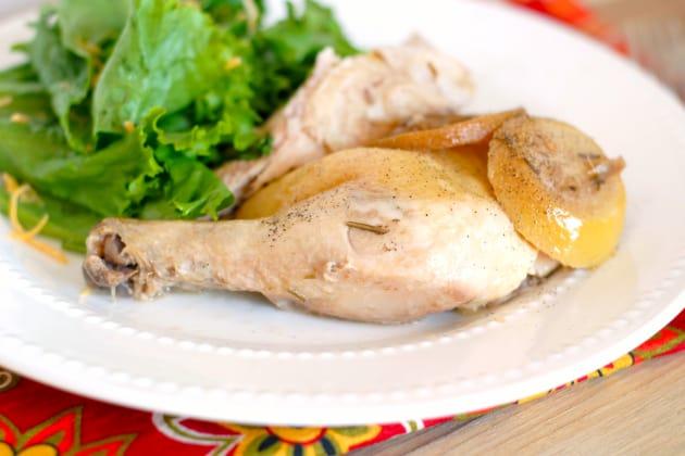 Slow Cooker Lemon Pepper Chicken Photo