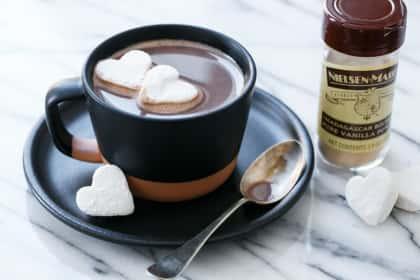 Salted Vanilla Hot Chocolate