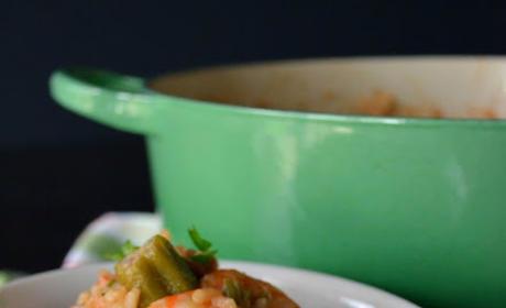 Shrimp and Sausage Jambalaya Recipe