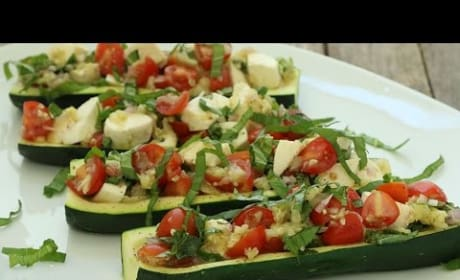 How to Make Delicious Caprese Zucchini