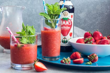 Strawberry Pimm's Slush