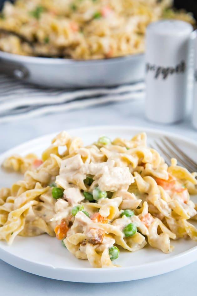 Chicken Pot Pie Noodles Pic