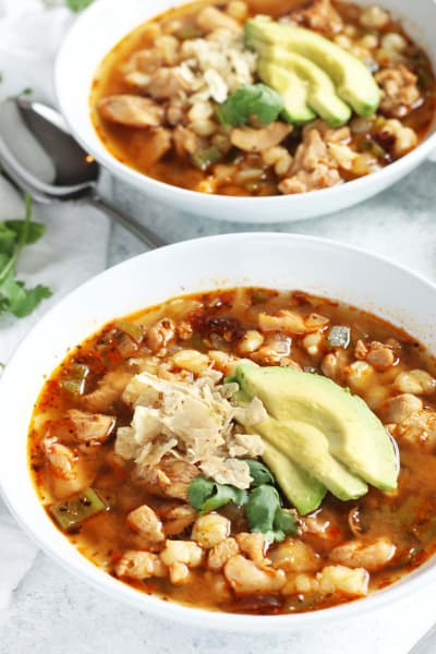 Tequila Lime Pozole Picture