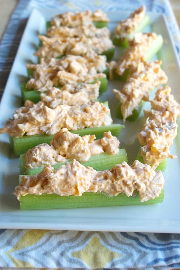 Buffalo Chicken Celery Sticks Picture