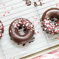 Peppermint Mocha Donuts Recipe