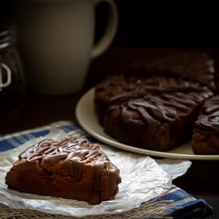 Double chocolate scones photo
