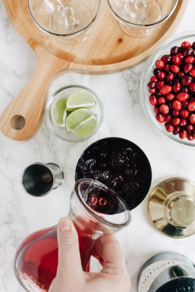 Cranberry Gimlet Recipe Image