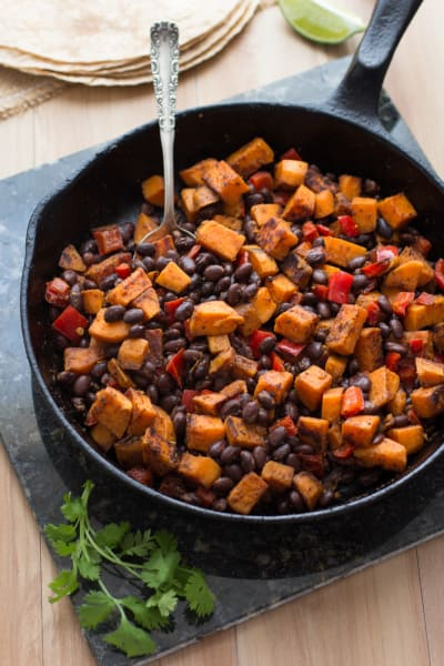 Sweet Potato and Black Bean Tacos Picture