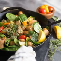 Paleo Sausage Vegetable Skillet Recipe