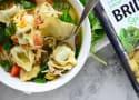 Lemon Artichoke Chicken Tortellini Soup