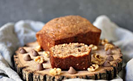 Peanut Butter Chocolate Banana Bread Recipe