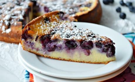 Blueberry Breakfast Cake Image