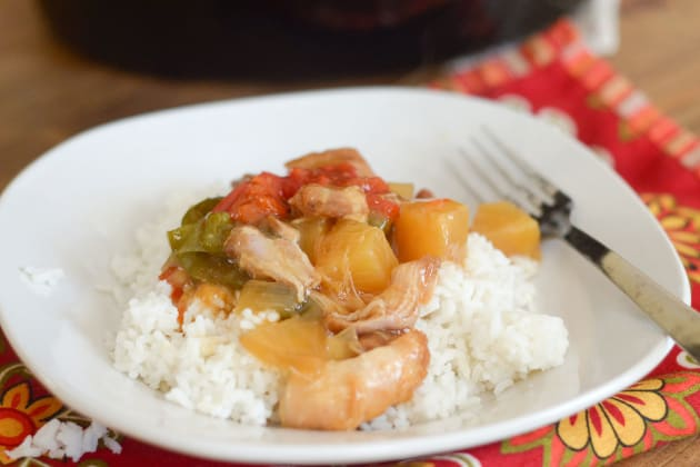 Gluten Free Slow Cooker Sweet and Sour Chicken Pic