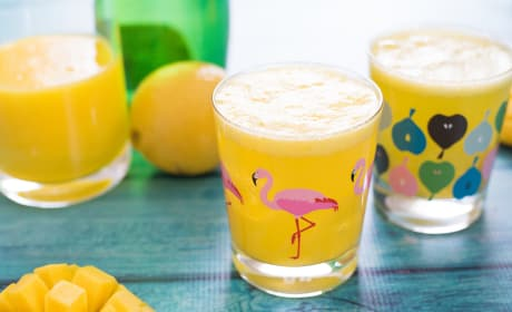 Sparkling Mango Lemonade Recipe