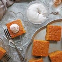 Easy Gluten Free Pumpkin Spice Cake Recipe