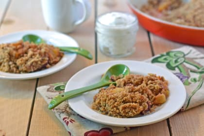 Healthy Crisp: Hearty, Warm, and Full of Flavor
